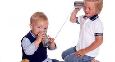 Boys on the phone