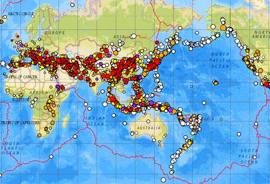 Why quake forecast maps often fail futurity gumiabroncs Gallery