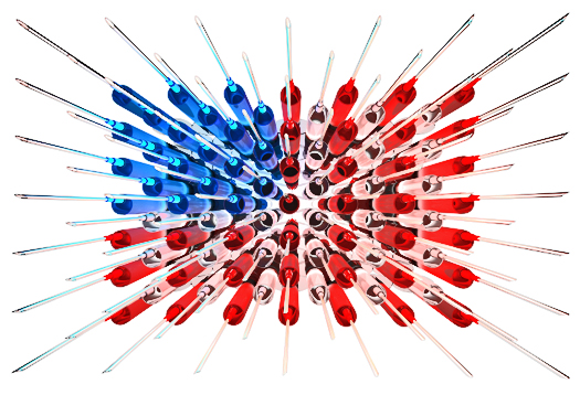 Syringe flag