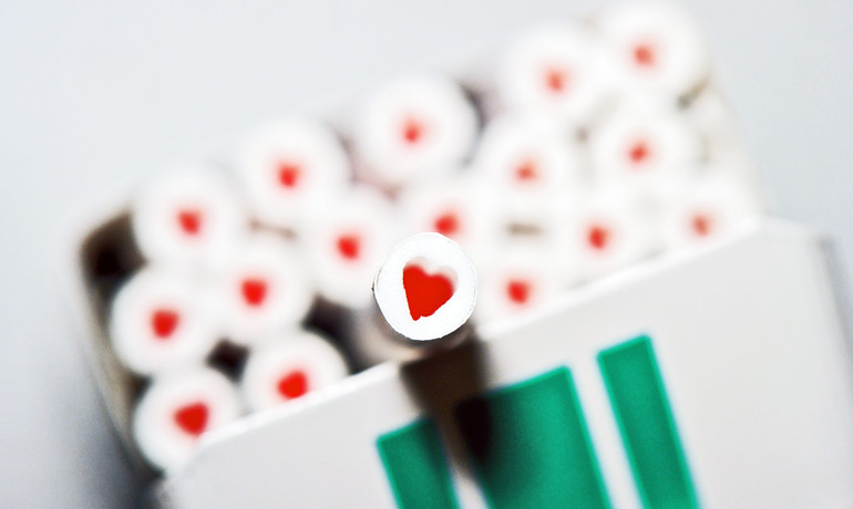 """Simply stated, menthol sweetens the poison, making it easier to smoke. Young people often think menthol cigarettes are safer, in part because they feel less harsh,"" says Gary Giovino. (Credit: Simon Q/Flickr)"