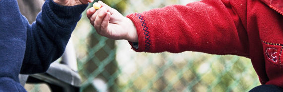 """""""Once children made a difficult decision to give up something for someone else, they were more generous, not less, later on,"""" explains Nadia Chernyak.  (Credit: Ben Grey/Flickr)"""