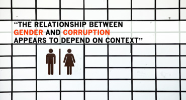 """When corruption is stigmatized, as in most democracies, women will be less tolerant and less likely to engage in it compared with men. But if 'corrupt' behaviors are an ordinary part of governance supported by political institutions, there will be no corruption gender gap,"" says Justin Esarey. (Credit: Robert Scoble/Flickr)"
