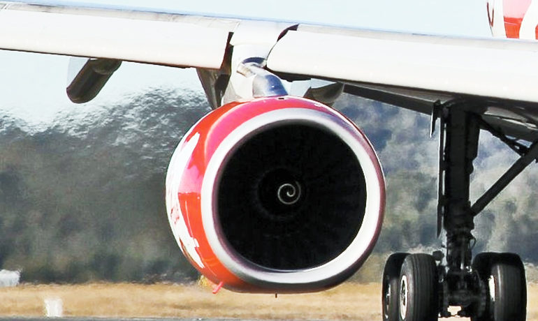 Jet engines may one day benefit from a new rust-proofing technology. Coating materials with a super thin sheet of boron nitride keeps them from rusting, even at temperatures up to 1,100 degrees Celsius (2,012 degrees Fahrenheit). (Credit: Auckland Photo News/Flickr)