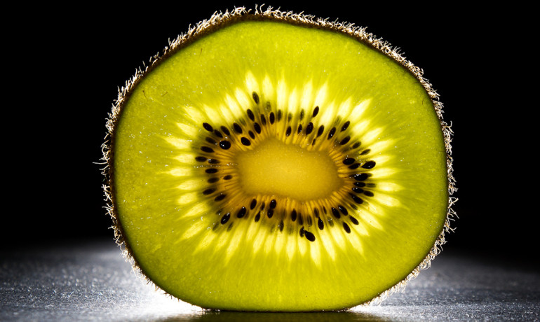 Kiwifruit, a form of berry that grows on woody vines, originated in China and was not really known to the world until the early 20th century, when farmers in New Zealand discovered it and began breeding it as a commercial crop. (Credit: Craig Demlo/Flickr)