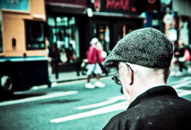 Older men who show signs of depression have a 40 percent greater risk of death from heart disease than those who aren't depressed, says Wenjie Sun. (Credit:  Iberian Proteus/Flickr)
