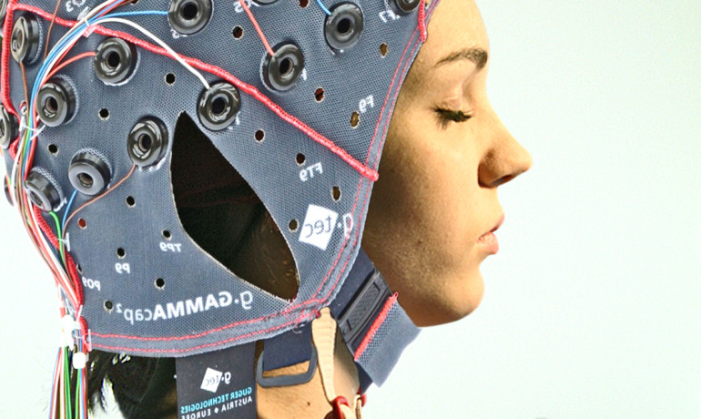 Researchers saw significant increases in sigma brainwave power after sleep compared to before in the visual cortical area in the occipital lobe of the volunteers' brains. (Credit: Ars Electronica/Flickr)