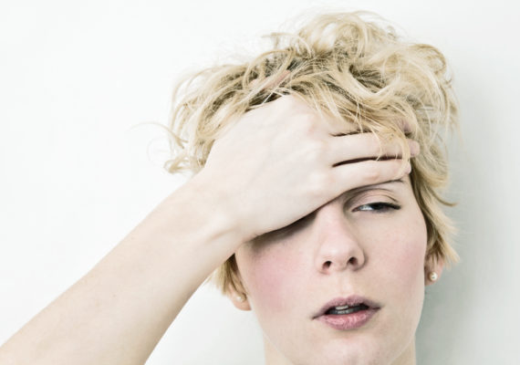 One month after head injuries, women in the premenstrual/high progesterone group were twice as likely to score in a worse percentile on standardized tests that measure concussion recovery and quality of life–as defined by mobility, self-care, usual activity, pain and emotional health–compared to women in the low progesterone group. (Credit: iStockphoto)
