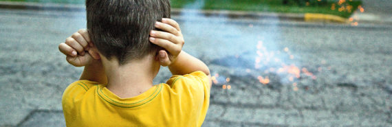 """""""One of the classic pictures of children with autism is they have their hands over their ears,"""" says Mark Wallace. """"We believe that one reason for this may be that they are trying to compensate for their changes in sensory function by simply looking at one sense at a time. This may be a strategy to minimize the confusion between the senses."""" (Credit: Ben Husmann/Flickr)"""