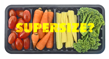 "A ""supersizing"" effect can even happen with the purchase of baby carrots, says Kelly Haws. ""Consumers are very attracted to deals in general and saving money per unit is very appealing to us, even when the deal is a larger bag of baby carrots."" (Credit: Shutterstock)"