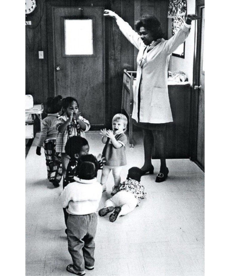 Studying 111 children from low-income families, born between 1972 and 1977, the Carolina Abecedarian Project was designed to test whether a high-quality early childhood environment could prevent developmental delays. (Credit: Frank Porter Graham Child Development Institute at the University of North Carolina)
