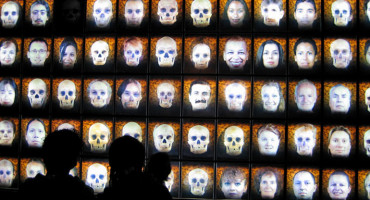 "Eventually, the researchers think that they might approximate the image of a parent from the DNA of children or better visualize some of Homo sapiens' ancestors by looking at DNA. On a more practical level, law enforcement groups might be able to create a ""mug shot"" from DNA to identify both victims and criminals. (Credit: ryan griffis/Flickr)"