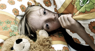 """We certainly don't want to worry parents with this news; three in every four children experience nightmares at this young age,"" Professor Dieter Wolke explains. ""However, nightmares over a prolonged period or bouts of night terrors that persist into adolescence can be an early indicator of something more significant in later life."" (Credit: iStockphoto)"