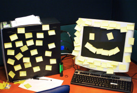 """""""The driving force seems to be that happier workers use the time they have more effectively, increasing the pace at which they can work without sacrificing quality,"""" says Daniel Sgroi. (Credit: utnapistim/Flickr)"""