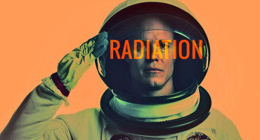 When astronauts are outside Earth's magnetic field, spaceships provide only limited shielding from radiation exposure. If they take space walks or work outside their vehicles, they will be exposed to the full effects of radiation from solar flares and intergalactic cosmic rays, says Robert D. Hienz. (Credit: iStockphoto)