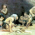 "Interpretations of high activity levels and frequent periods of scarcity form part of the basis for a perceived harsh upbringing among Neanderthal children, says Penny Spikins. ""There is a critical distinction to be made between a harsh childhood and a childhood lived in a harsh environment."" (Credit: Charles R. Knight via Wikimedia Commons)"