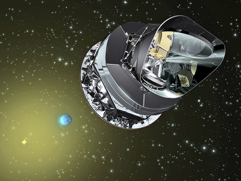 Planck Space Telescope (Credit: ESA)