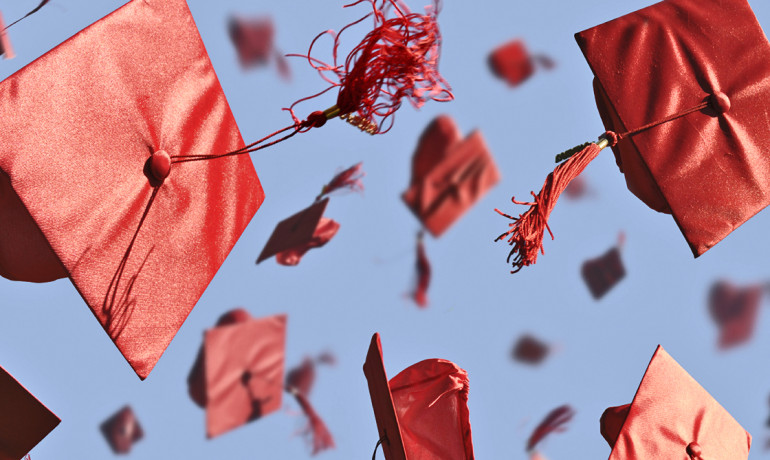 "One bright spot from the research is that although students are taking longer to graduate, fewer are dropping out completely. The rate of ""permanent dropouts,"" individuals who drop out of high school and never obtain a GED, has gone down. (Credit: iStockphoto)"