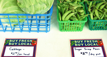 """If consumers can distinguish between local and organic, then by buying organic, they will be able to reduce their exposure to synthetic pesticides,"" says Hayk Khachatryan. ""However, there is no guarantee that organic is grown locally. Before reaching the consumer, organic produce may travel long distances, which involves some level of environmental footprint."" (Credit: Alice Henneman/Flickr)"