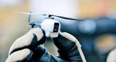 The Black Hornet Nano Unmanned Air Vehicle