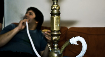 "The use of alternative tobacco products such as hookahs has increased 123 percent among adolescents in the US. ""Unlike cigarettes, hookah comes in a variety of flavors and is less likely to leave users smelling like cigarette smoke after use,"" says Jospeh Palamar. ""This may allow some users to better conceal their use from their parents or peers."" (Credit: Justin Barton/Flickr)"