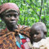 A Batwa woman and her child