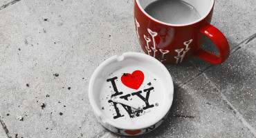 I love NY ashtray