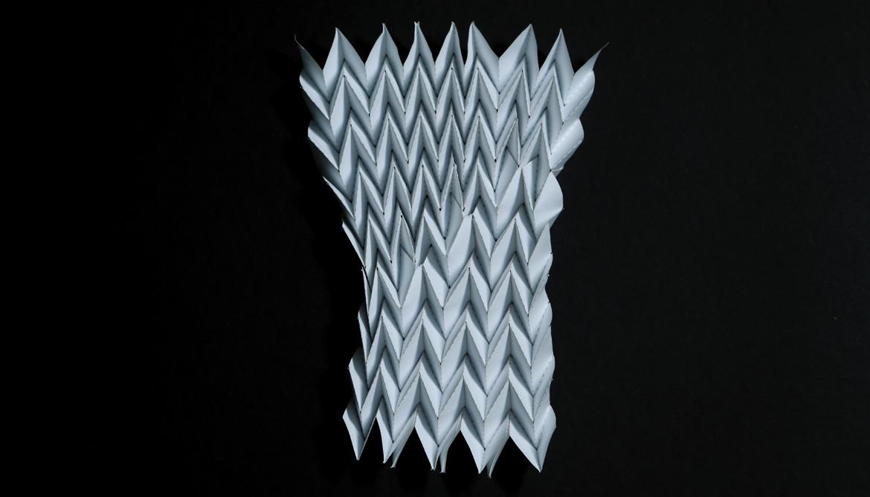 Miura-ori origami pattern