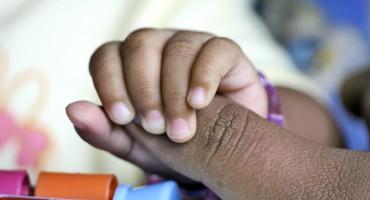 infant fingers