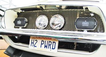 hydrogen fuel cell car