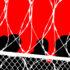 prison fence illustration