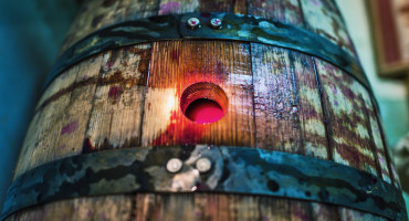 wine barrel