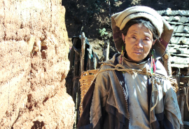 woman in Yunnan province, China