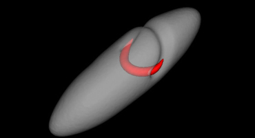 vortex ring in superfluid, not a soliton
