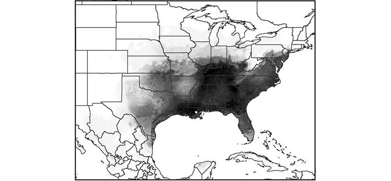 Asian tiger mosquito US range
