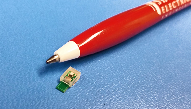 prototype of an ultrasound-powered implant