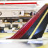 scale model of airplane tail