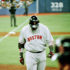 Boston Red Sox player strikes out