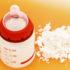 baby bottle and milk powder