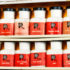 bottles from a vintage chemistry set