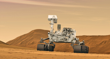 An artist concept of NASA's Curiosity rover. (Credit: NASA/JPL-Caltech)