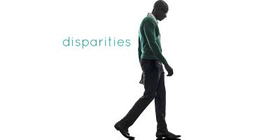 silhouette of a black man walking