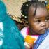 toddler girl in Zambia