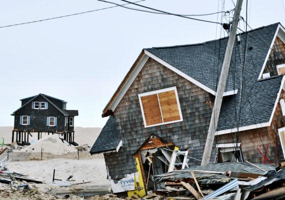 hurricane sandy houses