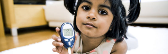 """""""This study shows we need to strike a balance between high blood sugar levels and low sugar levels, and avoid those extremes,"""" says Eva Tsalikian. """"The better we control those levels, the less likely that a child's brain development will be affected."""" (Credit: iStockphoto)"""