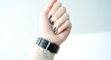 woman wears a wrist watch