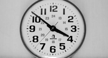 hospital wall clock