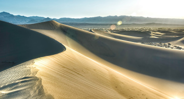 sand dune in California