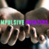 hands hold positive and negative traits