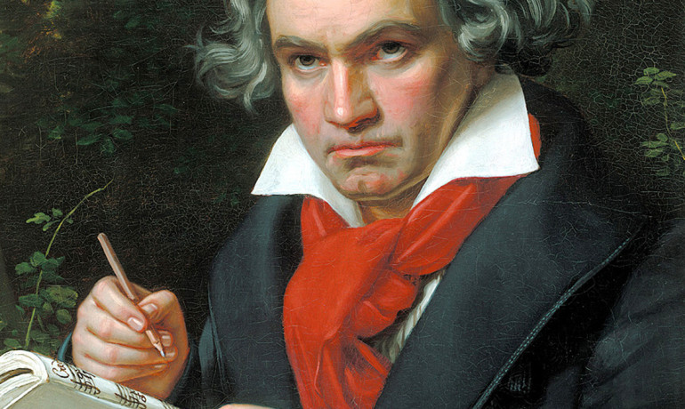 Beethoven portrait by Stieler