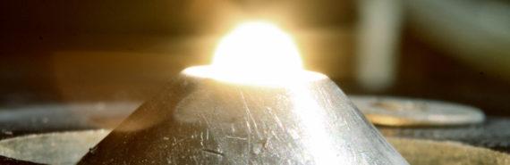 melting uranium dioxide